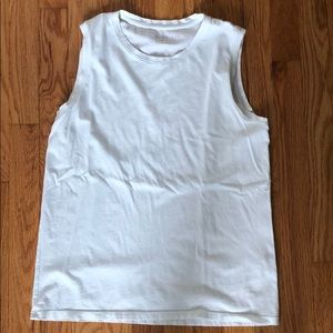Everlane white muscle tank